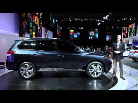 2013 Nissan Pathfinder Concept - 2012 Detroit Auto Show