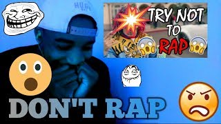 NEW TRY NOT TO RAP CHALLENGE - IF YOU RAP YOU LOSE REACTION/CHALLENGE #TRYNOTTO