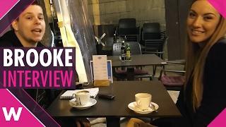 "Brooke ""Unstoppable"" - Malta ESC 2017 (INTERVIEW)"