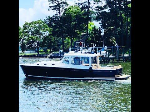 MJM Yachts 40z Downeast video