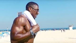 Boxing champion Anthony Joshua visits Dubai