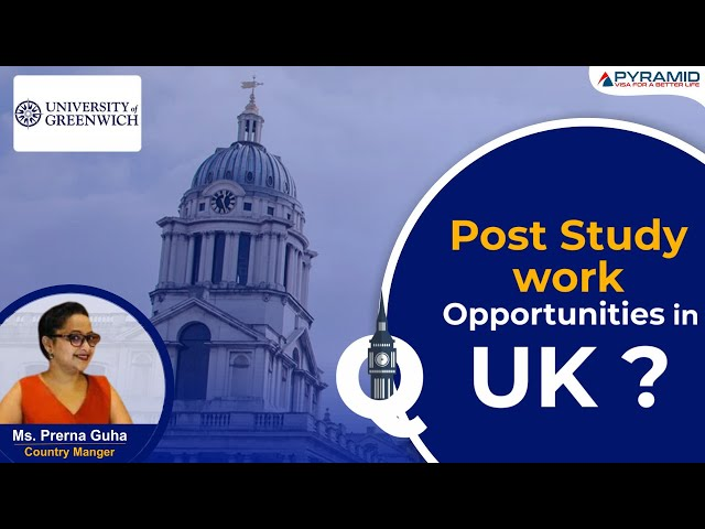 What are the post-study work opportunities in the UK?