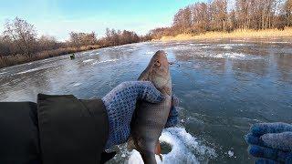 Зимняя рыбалка на окуня зимой