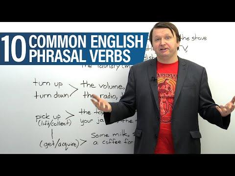 10 Phrasal Verbs for Everyday Life