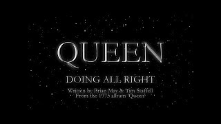 Queen - Doing All Right (Official Lyric Video) - YouTube