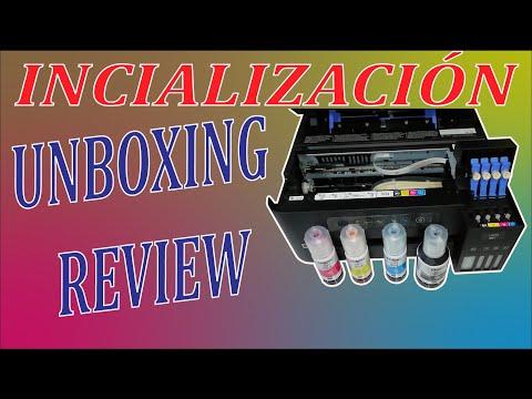 Impresora Epson L4150 | Inicialización | Unboxing | Review