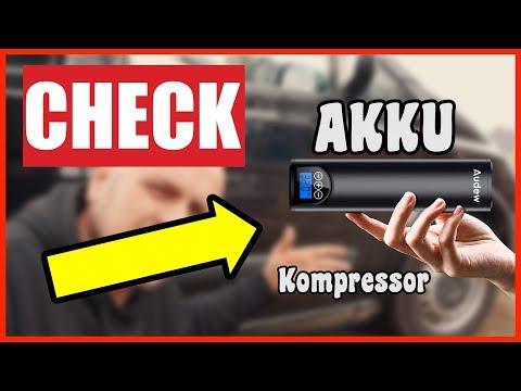 ✅ Luftkompressor Elektrische Akku Luftpumpe Kompressor 12V TEST