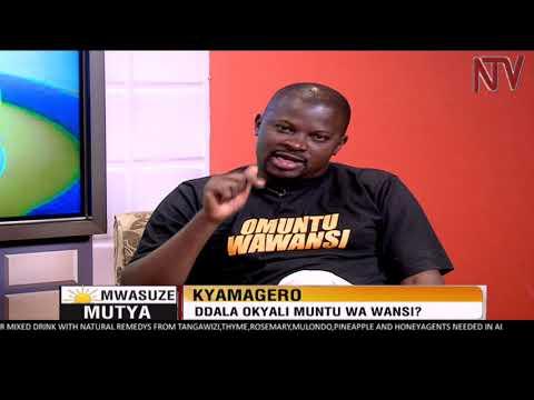 NTV Mwasuze Mutya: Emboozi ya Andrew Kyamagero