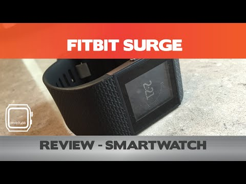 Fitbit Surge Review - How smart is it? - Smartwatch Reviews 2015