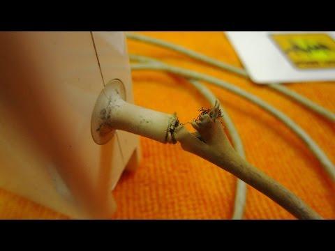 #033 Как починить зарядку от MacBook.