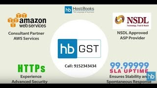 GST Software India | HostBooks