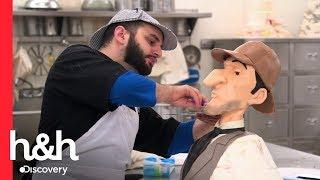 Pastel de Sherlock Holmes | Cake Boss | Discovery H&H