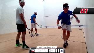 2017 Westchester Country Club Pro Doubles Squash Tournament - Semifinals