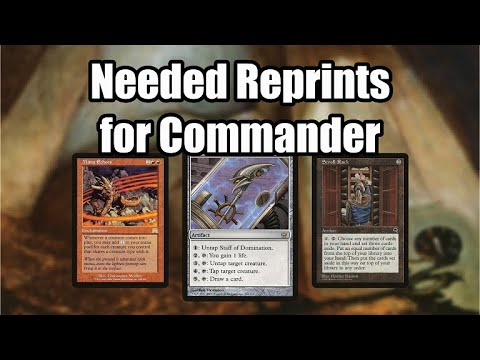 10 Needed Reprints for Commander in 2020