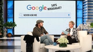 Jason Sudeikis Plays 'Google Says Whaaaat?!' - Video Youtube