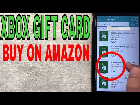 ✅  How To Buy Xbox Gift Card On Amazon From Start To Finish 🔴
