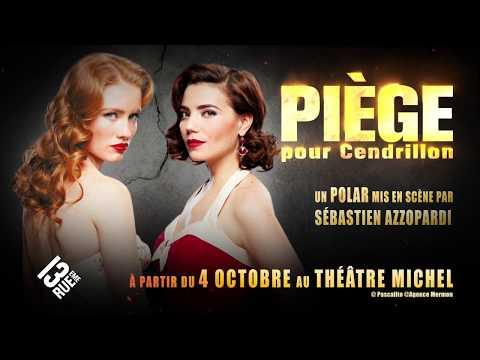 Piège pour Cendrillon au Théâtre Michel. Un polar glamour et vénéneux. Infos et réservation :...