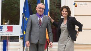 Ministrul Educaţiei - decorat cu ordinul ''Palmes academiques'': O să susţin folosirea limbii franceze în instituţiile europene
