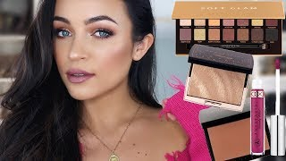 GRWM: NEW Anastasia Beverly Hills Soft Glam, Amrezy Highlighter, Bronzers, etc. | Stephanie Ledda