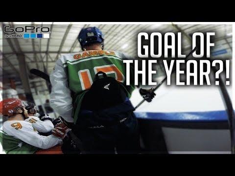 GoPro Hockey | BEST GOAL OF 2018?!