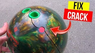 How To Fix A Cracked Bowling Ball & Prevent It From Ever Happening -Jonny DIY
