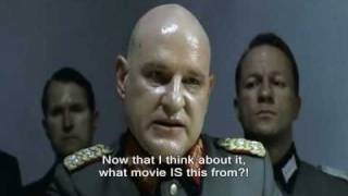 Hitler and Friends Explain How to Kill a Hitler Parody