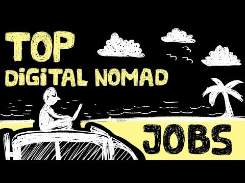 Top 8 Digital Nomad Jobs – Make Money Online Around the World