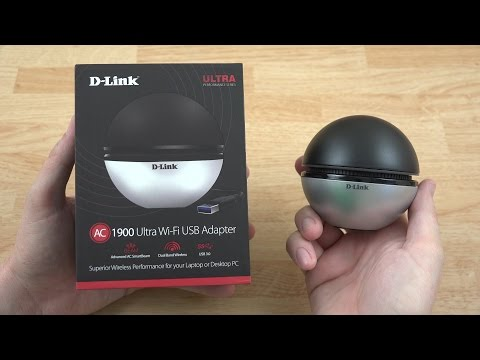 D-Link AC1900 Wi-Fi USB 3.0 Adapter Unboxing and Speed Tests! (DWA-192)