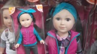 Boy Dolls & Mini Dolls added to the My Life Dolls at Walmart!