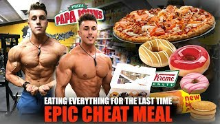 I Ate Everything I Wanted for One Hour… (FINAL CHEAT MEAL)