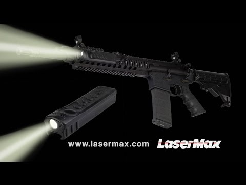 LaserMax Manta-Ray LED Rail Light Makes Waves