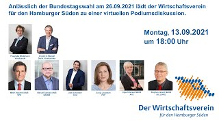 Podiumsdiskussion | Livestreaming am 13.09.21
