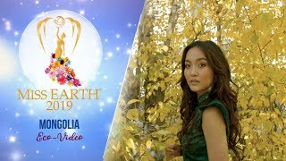 Azzaya Tsogt Ochir Miss Earth Mongolia 2019 Eco Video