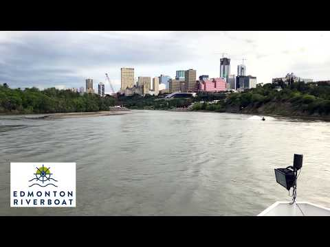 A video of downtown Edmonton during a cruise.