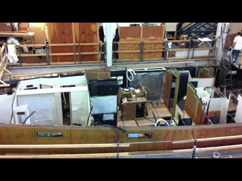 Lyman Morse / Farr Racer-Cruiser hull # 2 video