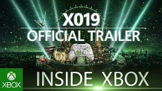 Trailer Inside Xbox X019 - 14 novembre