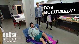Krass Schule   Schülerin Endbindet In Schule #008   RTL II