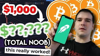 Was berechnet Robinhood fur Crypto-Trades?