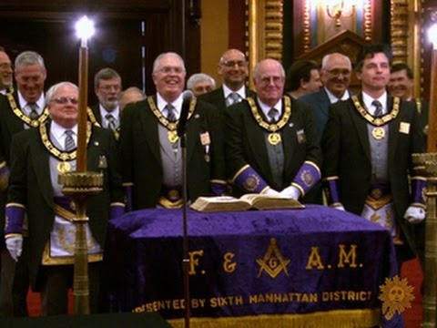 Enter the secret world of the Freemasons