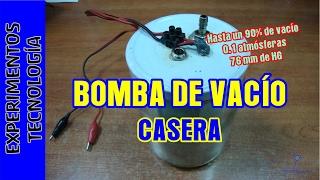 Bomba de VACIO Casera v1.0