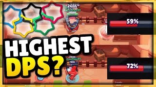 Highest Damage Per Second?! | Brawl Stars Olympics! | Brawler DPS Comparison Guide
