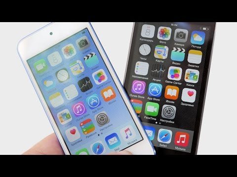 iPod touch 5G vs 6G