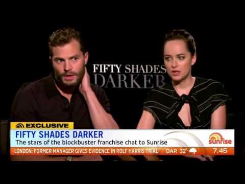 Jamie Dornan and Dakota Johnson talk Fifty Shades Darker (Sunrise Interview)