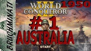 Australia 1950  Conquest #1 World Conqueror 3