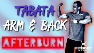 TABATA ARM & BACK...Mind Blowing Results in 2 Minutes by Trainer Ben