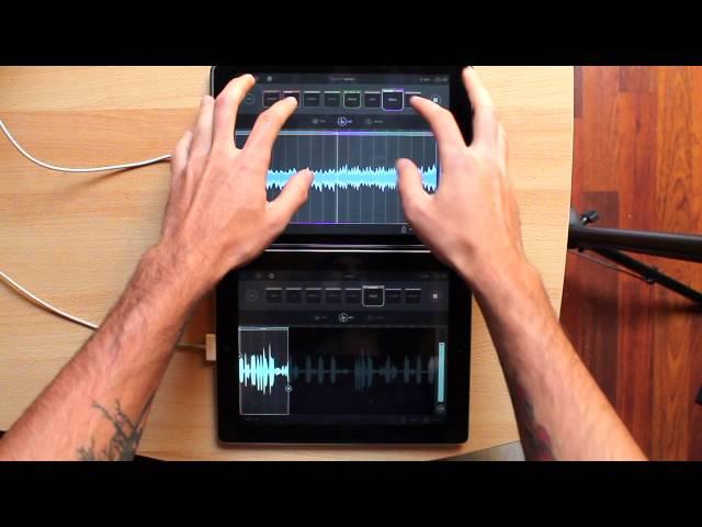 // Blocs Wave // Novation -  2 iPad performance
