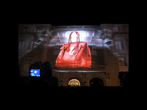 Video Mapping — Ralph Lauren 4D Fashion Light Show