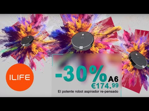 ILIFE Robot Vacuum Black Friday Big Discount in US