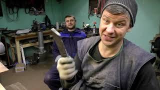 Прислали супер сталь  для ножей . что за сталь? И ее Тест .
