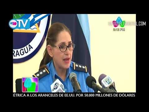 Policía da a conocer actos terroristas ocasionados por la derecha en las últimas horas